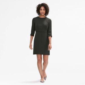 NWT MM Lafleur Pine Green Lena Mini Dress 8